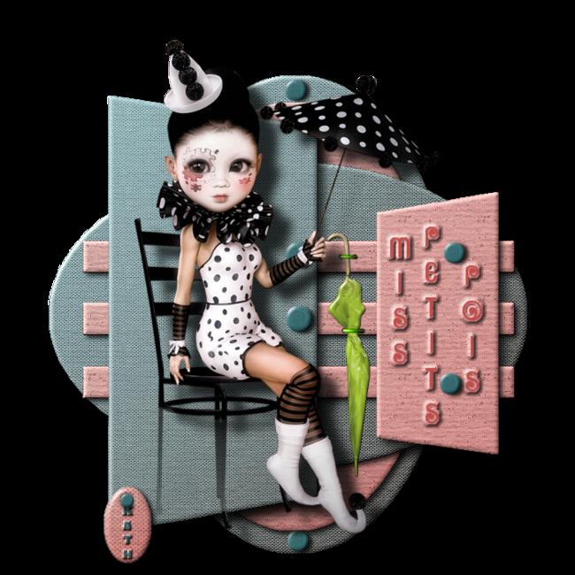 Miss Petits Pois - Le Bain