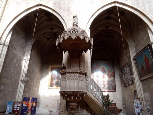 La cathédrale de Condom dans le Zers (photos)