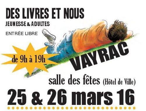 25  26  Mars  Des livres et Nous à VAYRAC 46