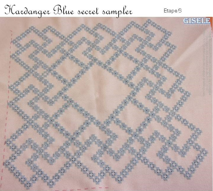 Hal The Blue Secret Hardanger Sampler de Vavi (6)