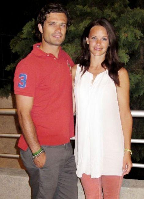 Sofia et Carl Philip