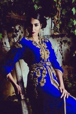 Caftan style royal : tendances 2016