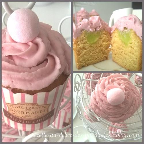 Recette Cupcake Citron framboise