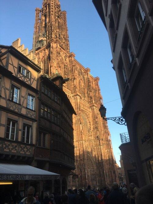 Strasbourg hier Samedi