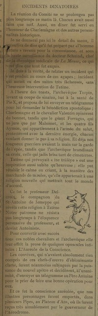 Incidents dinatoires (Tatène 29 juillet 1911)