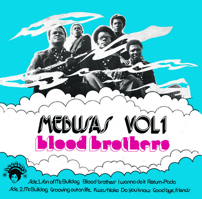 Mebusas - Blood Brothers (1973) [Psychedelic Soul]
