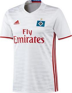 Nouveau Maillot de foot Hambourg 2016/17