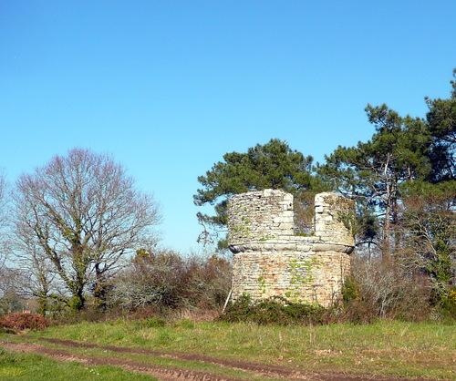 Ruines du moulin du Héric