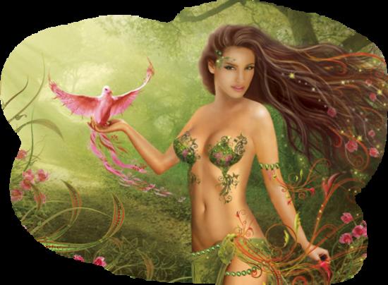 Personnage féerique mythique