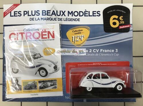 N° 1 Collection Citroën - Lancement