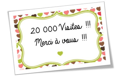 20 000 Visites !!