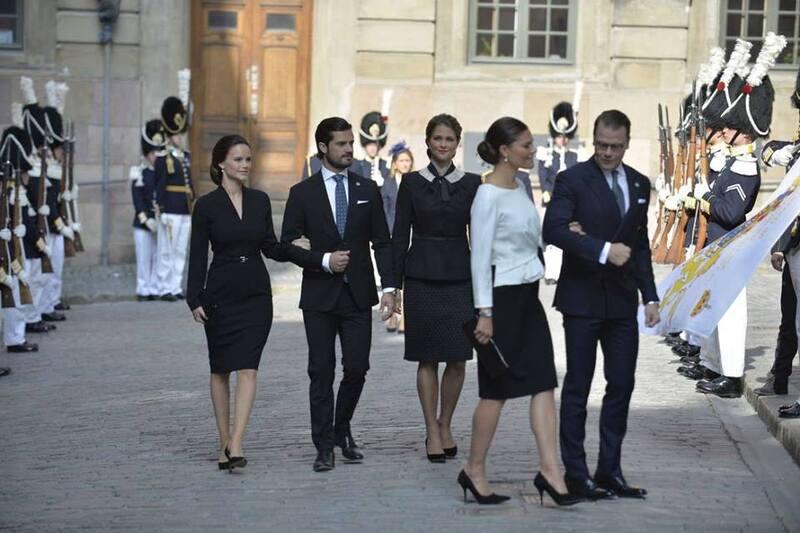 Ouverture du parlement en Suède, le 13 septembre
