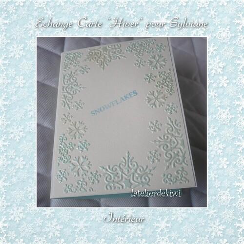 "Echange Carte "" hiver """
