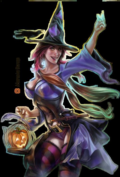tubes d'Halloween - page 11 - les sorcières