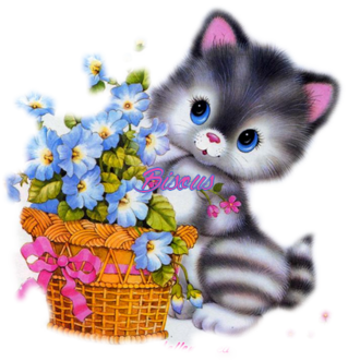 Carte**Panier de fleurs**