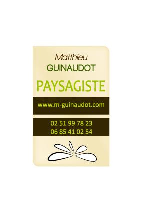 Projet Paysagiste : Création d'une identité visuelle (Logo, carte de visite et dépliant)