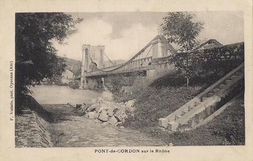 Le pont de Cordon