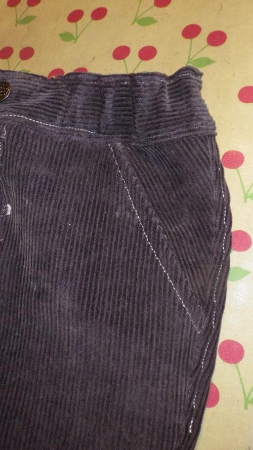 Un pantalon pour Flo