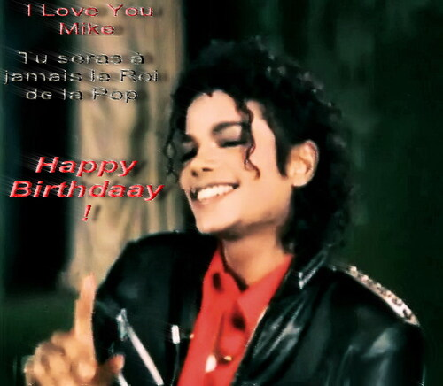 Happy Birthdaay Michael !