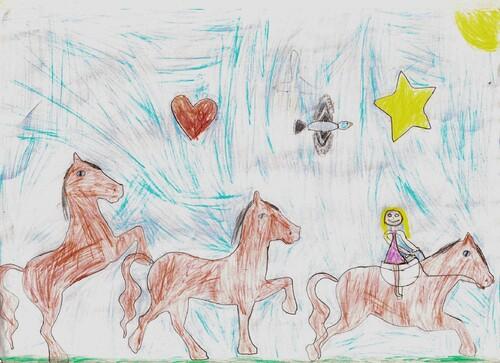 Un grand bravo à Lucie dont l'illustration a séduit la majorité des élèves.