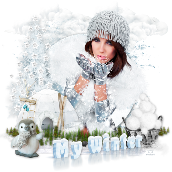 "Tutoriel ""My Winter"" de Lisa creations"