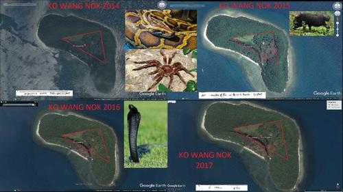 KO WANG NOK, 2014, 2015, 2016, 2017.(Google Earth)