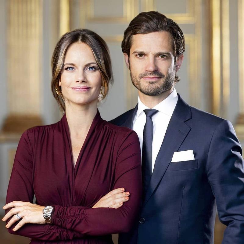 Carl P. et Sofia de Suède