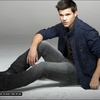 Photo de Taylor Lautner pour EW (cliché photoshoot)