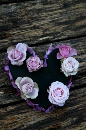 Making-of : un petit coeur à suspendre