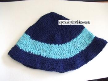1er bonnet au crochet