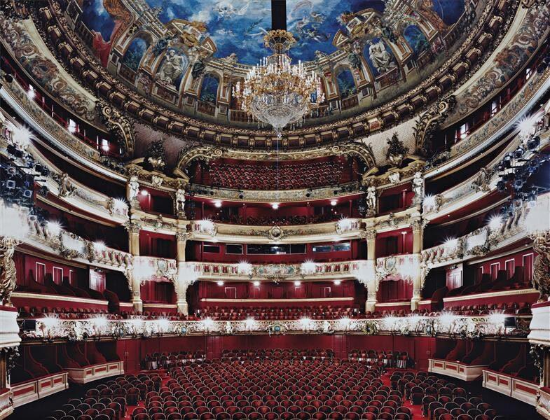 Salle opéra de la monnaie à Bruxelles