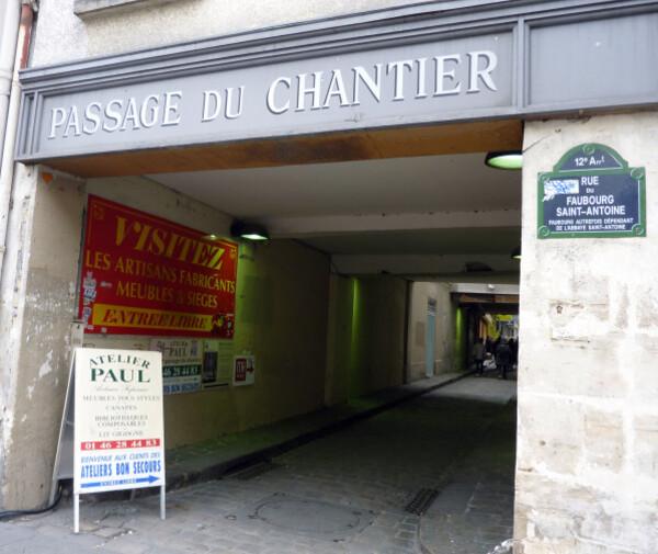 34 - Passage du Chantier