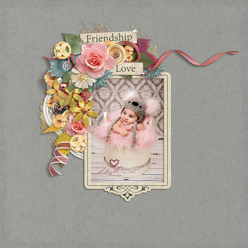 Love, Courage And Strength by dentelle scrap