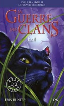 Chronique du roman { La guerre des clans - Exil}