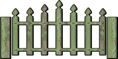tube barrière de jardin verte - chantalou1607eden.eklablog.com