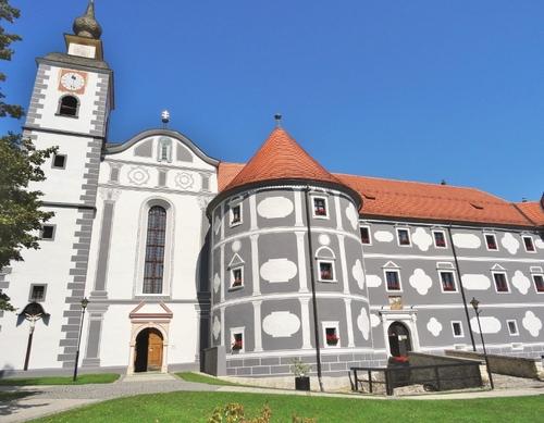 Le monastère d'Olimje en Slovénie (photos)