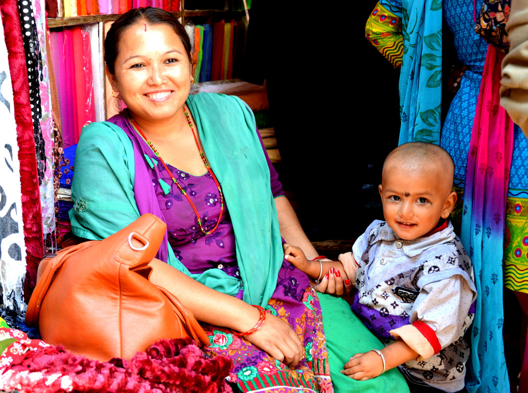 Femmes de Katmandou...