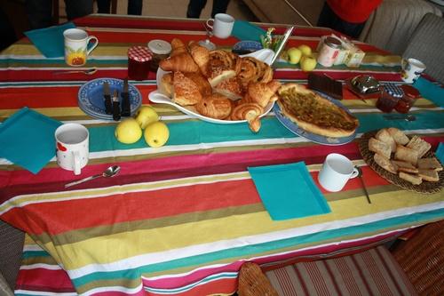 Petit-déjeuner de l'amitié