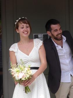 Petites touches d'un mariage civil à la campagne en toute simplicité ...