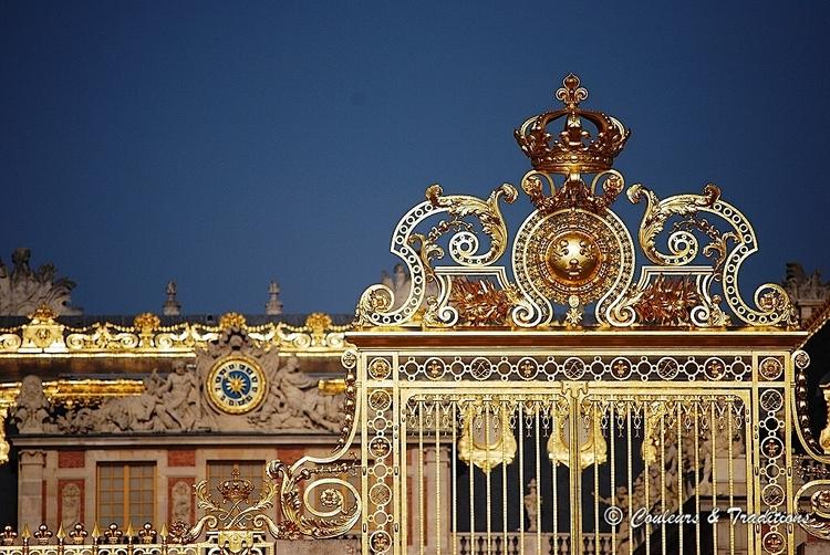 L'entrée du Chateau de Versailles