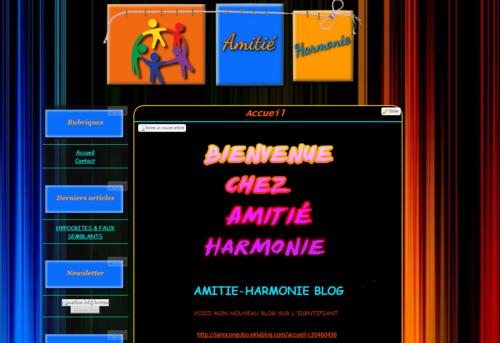 Amitié Harmonie