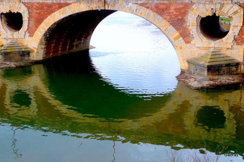 Toulouse : le Pont Neuf sans le soleil !
