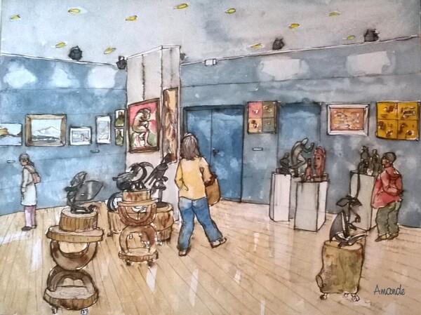 Lundi - Une exposition