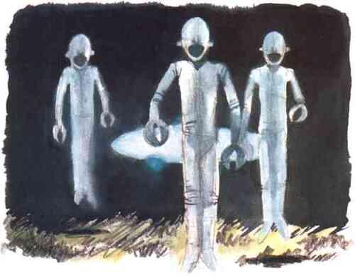 Enlevés par des extra-terrestres
