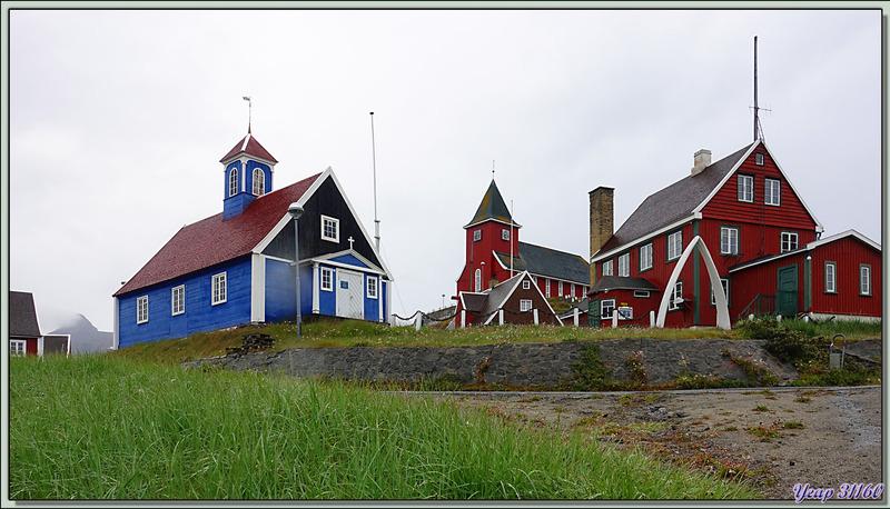 Balade dans Sisimiut, mais malheureusement sous la pluie - Groenland