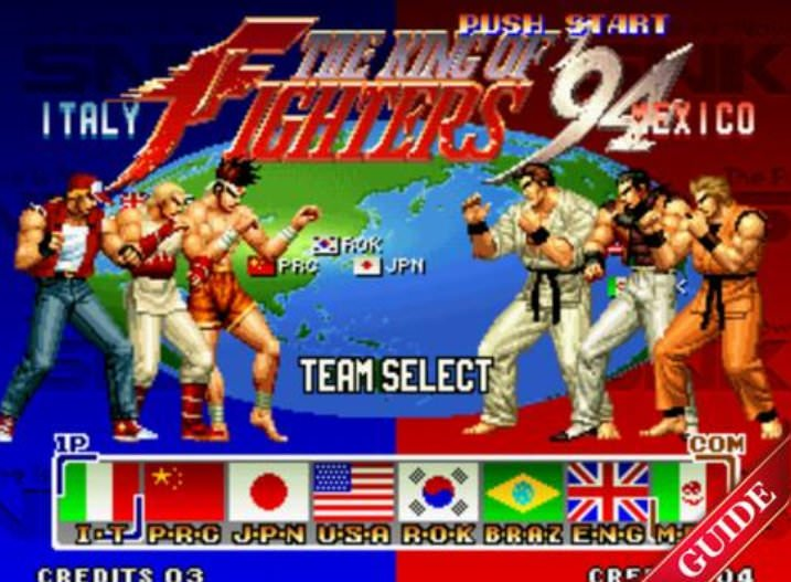King of the Fighters