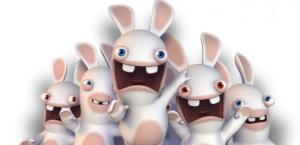 Les Lapins crétin, l'une des réussites d'Ubisoft.