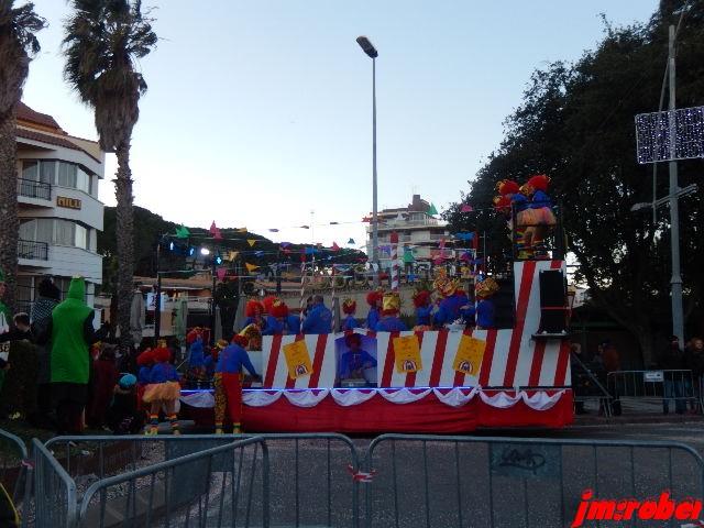 Espagne/ Carnaval 2018 de Platja d'Aro …..le grand défilé de chars (50) et les figurants