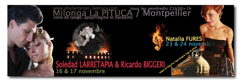 Ce vendredi 2 novembre à La Pituca ...... et ensuite .....