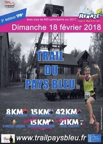 Trail du Pays Bleu - Renaze - Dimanche 18 février 2018